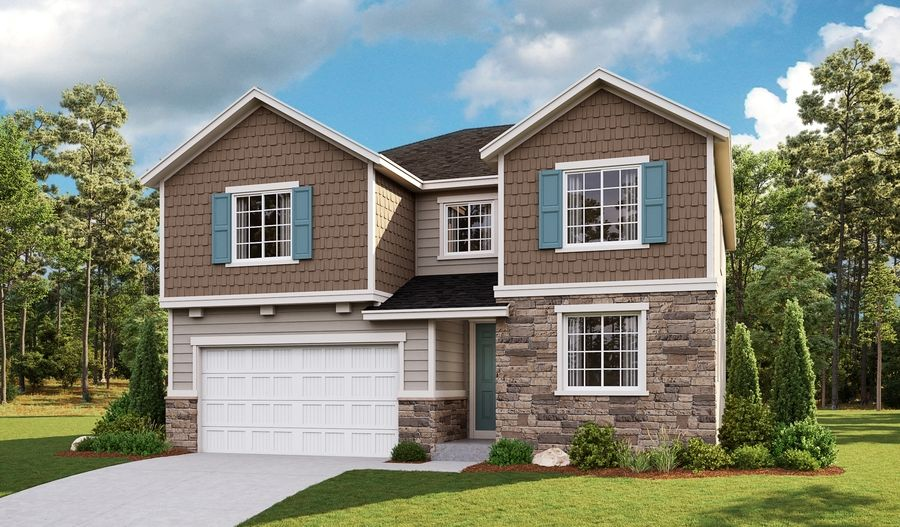 Exterior featured in the Coronado By Richmond American Homes in Salt Lake City-Ogden, UT