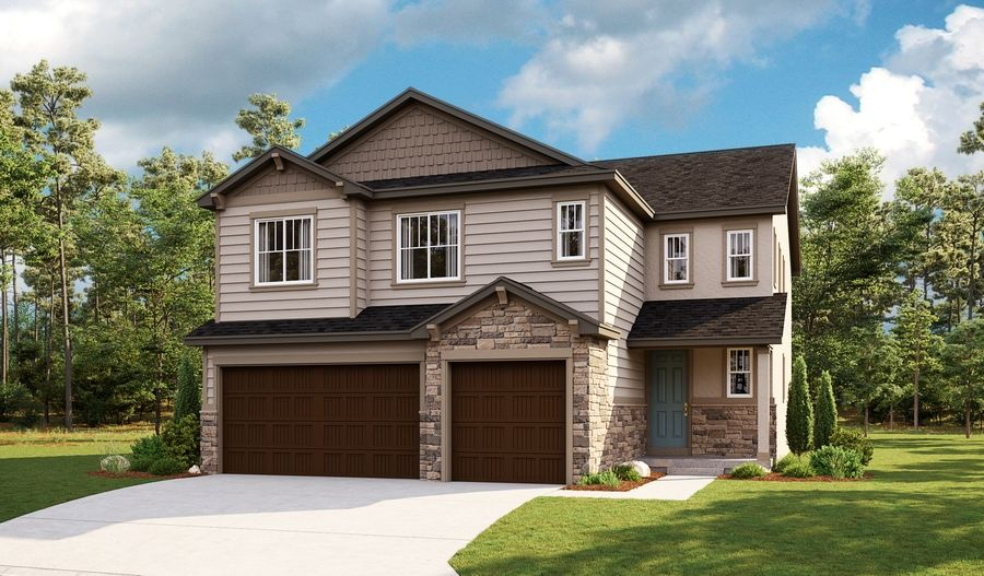 Exterior featured in the Yorktown By Richmond American Homes in Salt Lake City-Ogden, UT