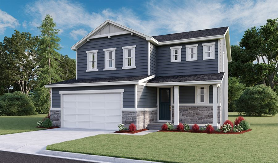 Exterior featured in the Coral By Richmond American Homes in Salt Lake City-Ogden, UT