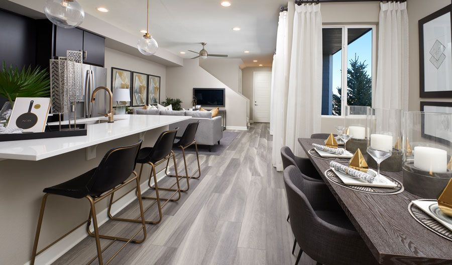 Kitchen featured in the Chicago By Richmond American Homes in Provo-Orem, UT