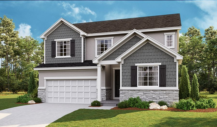 Exterior featured in the Hopewell By Richmond American Homes in Salt Lake City-Ogden, UT