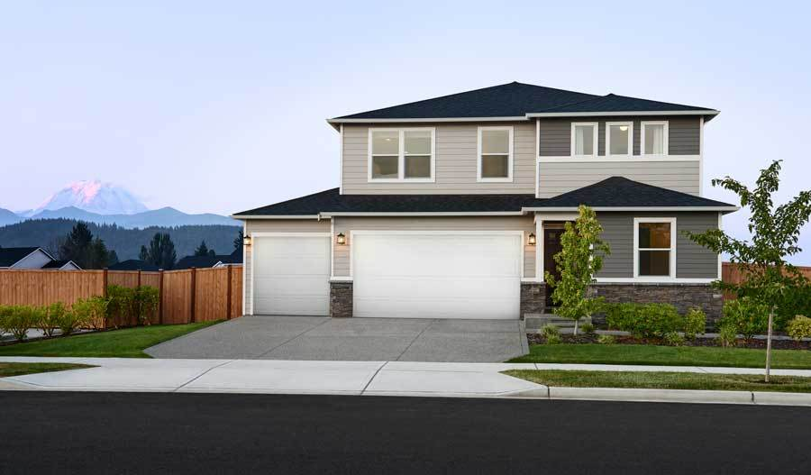 Exterior featured in the Pearl By Richmond American Homes in Provo-Orem, UT