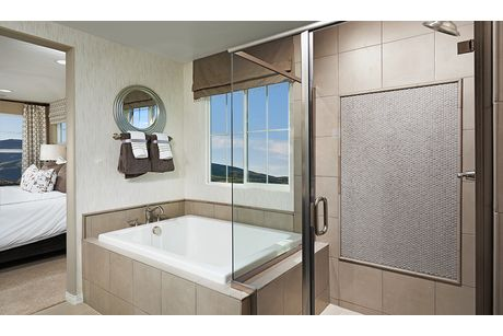 Bathroom-in-Bronson-at-Coleburn at Highland Hills-in-Las Vegas
