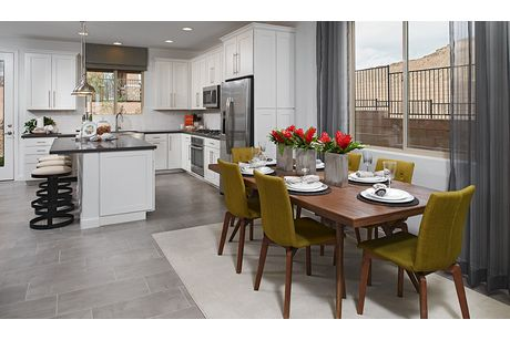 Kitchen-in-Lawson-at-Glenmore at Highland Hills-in-Las Vegas