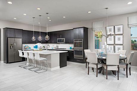 Kitchen-in-Arabelle-at-Bellamont-in-North Las Vegas