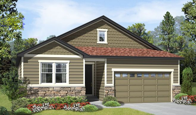 Alcott-D193-Copperleaf Elevation A Rend:The Alcott - Elevation A