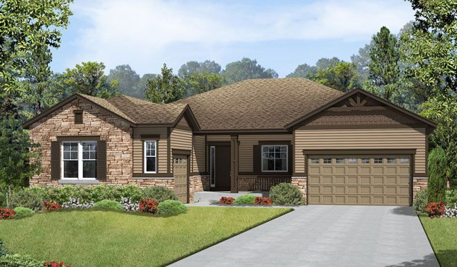 Hanford-D29H-Blackstone Elevation A Rend:The Hanford - Elevation A
