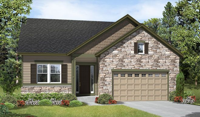 Avery-D23P-BlkstnCC Elevation A Rend:The Avery - Elevation A