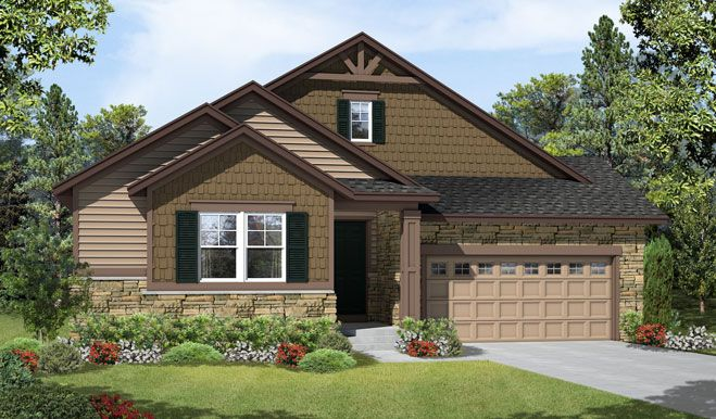 Timothy-D23T-Blackstone Elevation A Rend:The Timothy - Elevation A