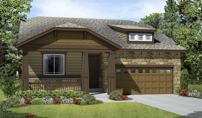 Anika-D175-Traditions Elevation A:The Anika - Elevation A