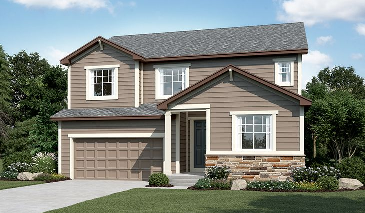 Hopewell-D724-WyndhamHills Elevation A:The Hopewell - Elevation A