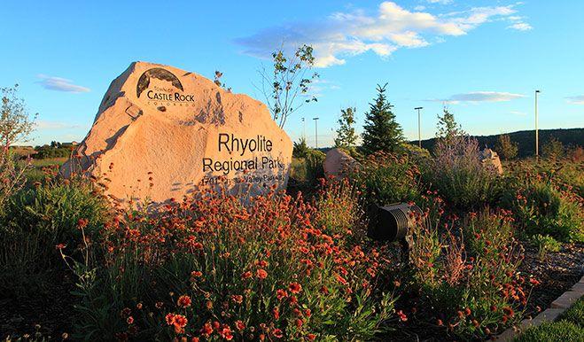 Crystal Valley - Rhyolite Regional Park sign:Crystal Valley - Rhyolite Regional Park