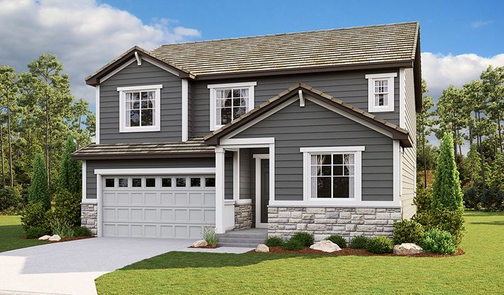 Hopewell-D724-RidgelineAtMeridianVillage Elevation A:The Hopewell - Elevation A