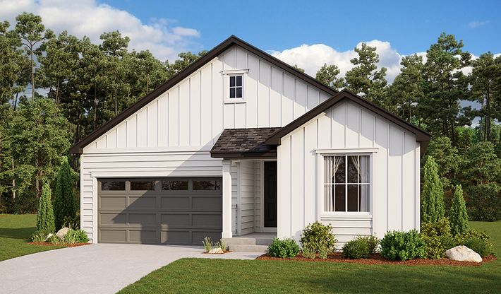 Clarion-D902-AscentVillageAtSterlingRanch Elevation A:The Clarion - Elevation A