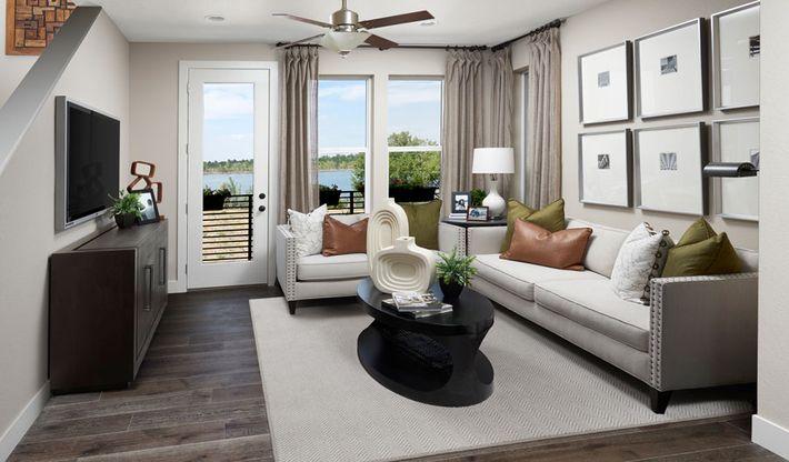 CityscapeAtHighline-DEN-Soho Living Room:The Soho
