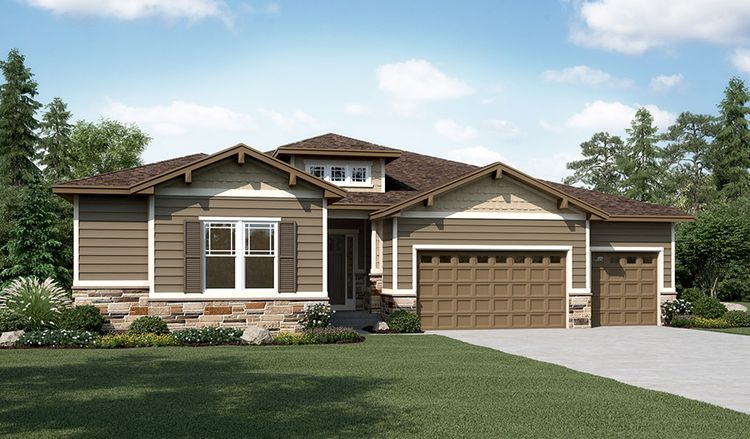 Exterior featured in the Holbrook By Richmond American Homes in Denver, CO