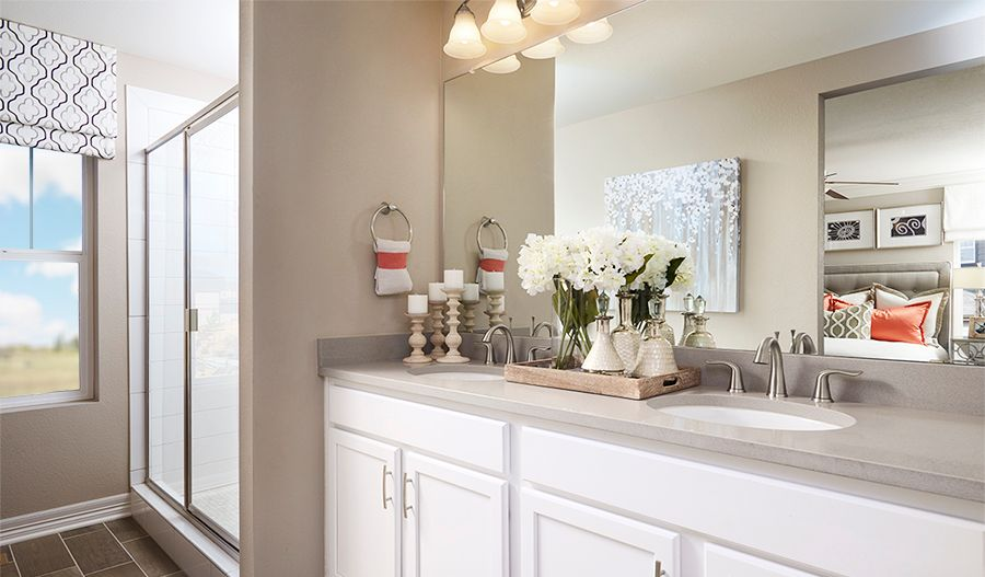 Bathroom featured in the Coral By Richmond American Homes in Hagerstown, MD
