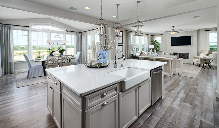 Kitchen featured in the Hemingway By Richmond American Homes in Baltimore, MD