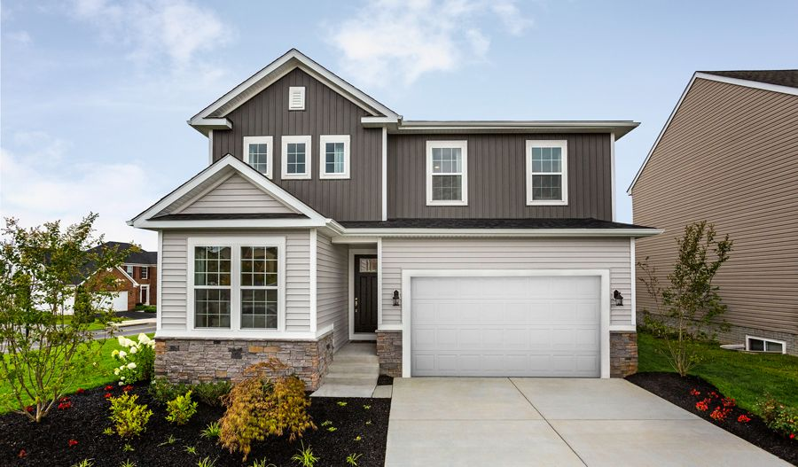 Exterior featured in the Pearl By Richmond American Homes in Hagerstown, MD