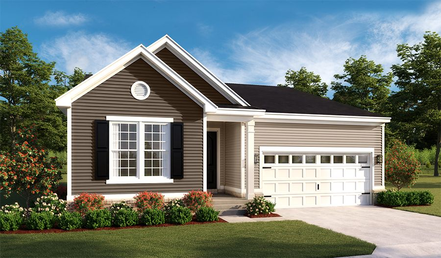Exterior featured in the Alexandrite By Richmond American Homes in Hagerstown, MD