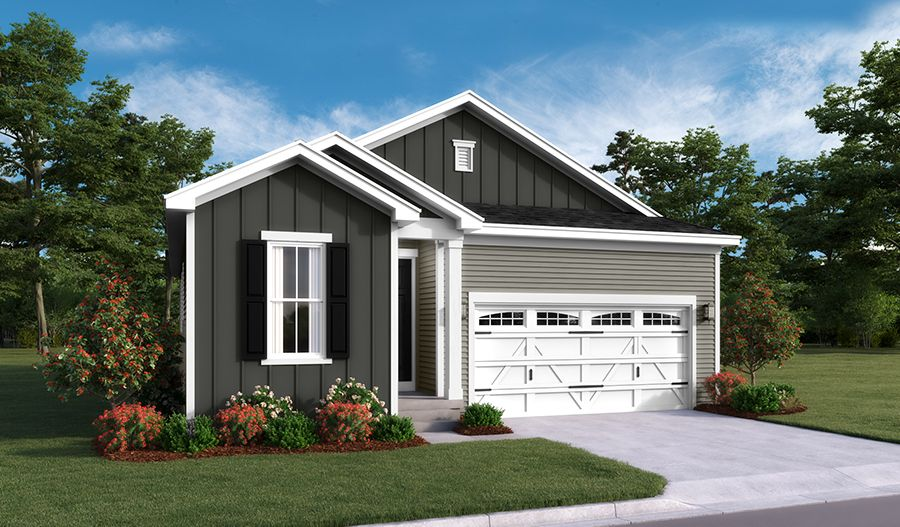 Exterior featured in the Jonquil By Richmond American Homes in Hagerstown, MD
