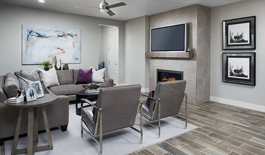 Living Area featured in the Bedford By Richmond American Homes in Baltimore, MD