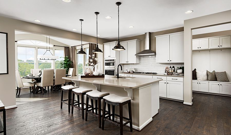 Kitchen featured in the Coronado By Richmond American Homes in Hagerstown, MD