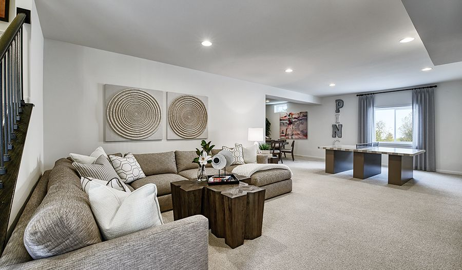 Living Area featured in the Hopewell By Richmond American Homes in Baltimore, MD