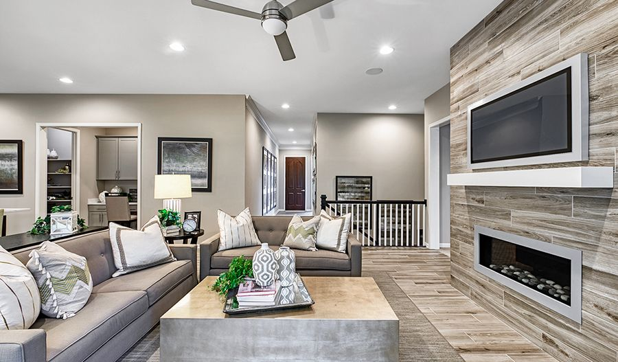 Living Area featured in the Decker By Richmond American Homes in Baltimore, MD