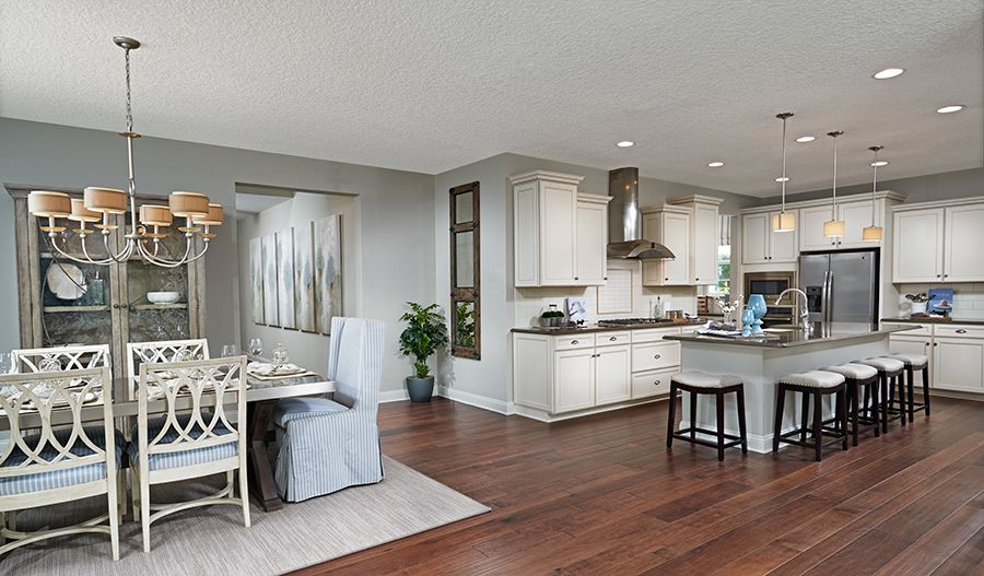 Kitchen featured in the Bradford By Richmond American Homes in Baltimore, MD
