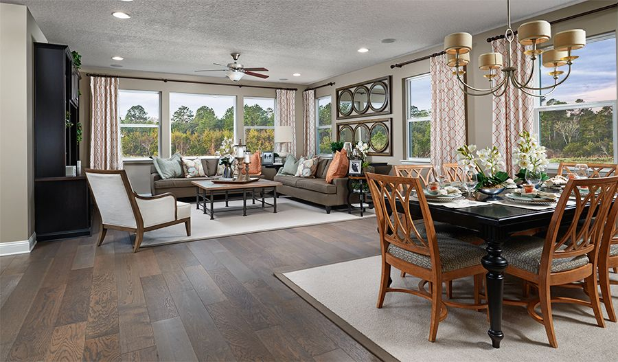 Living Area featured in the Bradford By Richmond American Homes in Baltimore, MD