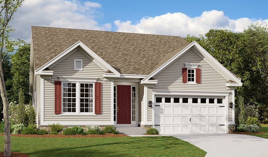Exterior featured in the Avery By Richmond American Homes in Baltimore, MD