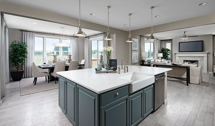 Kitchen featured in the Hemingway II By Richmond American Homes in Baltimore, MD