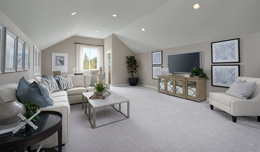 Living Area featured in the Hemingway II By Richmond American Homes in Baltimore, MD