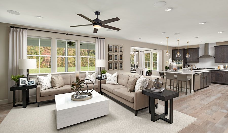 Living Area featured in the Yellowstone By Richmond American Homes in Baltimore, MD