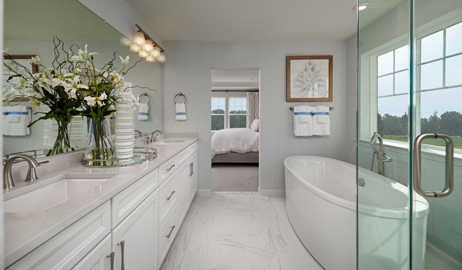 Bathroom featured in the Fleming By Richmond American Homes in Baltimore, MD