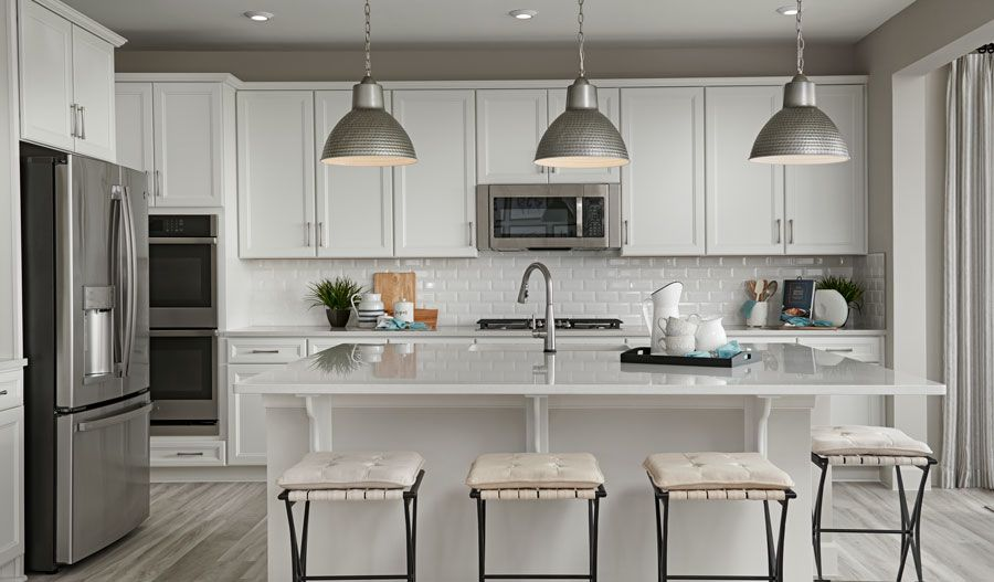 Kitchen featured in the Fleming By Richmond American Homes in Baltimore, MD