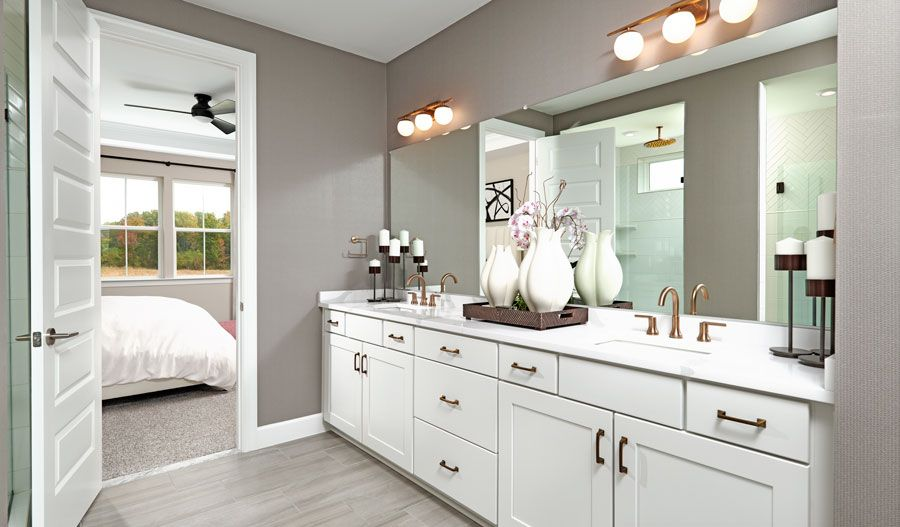 Bathroom featured in the Arlington By Richmond American Homes in Hagerstown, MD