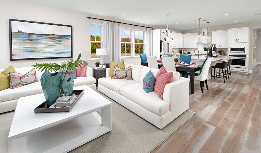 Living Area featured in the Arlington By Richmond American Homes in Hagerstown, MD