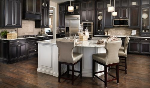 Kitchen-in-Harmon-at-Timbers at the Pinery-in-Parker