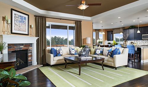 Greatroom-and-Dining-in-Delaney-at-Lakeview at Southshore-in-Aurora