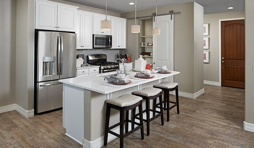 Kitchen-in-Coral-at-Ponderosa Neighborhood at Copperleaf-in-Centennial