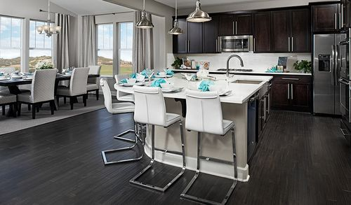 Kitchen-in-Hemingway-at-Maple Neighborhood at Copperleaf-in-Centennial