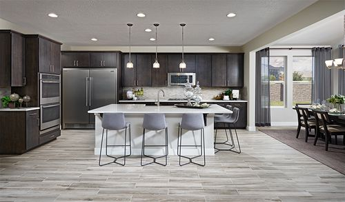 Kitchen-in-Bedford-at-Maple Neighborhood at Copperleaf-in-Centennial
