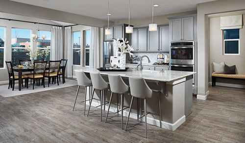 Kitchen-in-Coronado-at-Maple Neighborhood at Copperleaf-in-Centennial