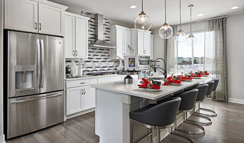 Kitchen-in-Soho-at-Cityscapes at Southcreek-in-Centennial