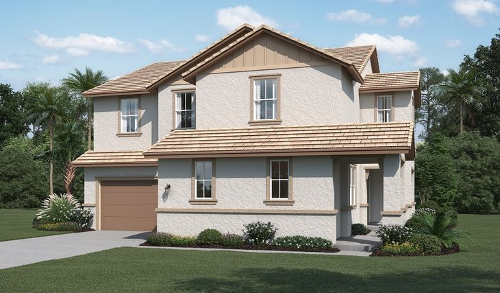 Clarissa-N664-SandPointe Elevation A:The Clarissa - Elevation A
