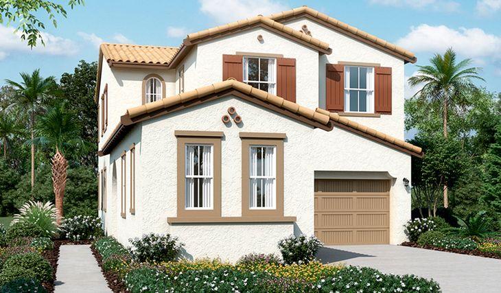 Landsdale-N795-Oliveto Elevation A:The Landsdale