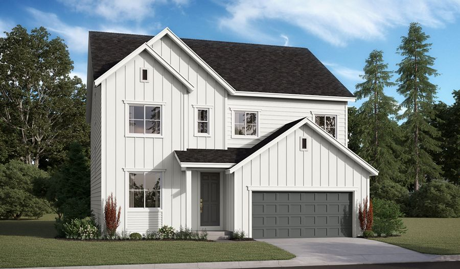 Exterior featured in the Hemingway II By Richmond American Homes in Portland-Vancouver, OR