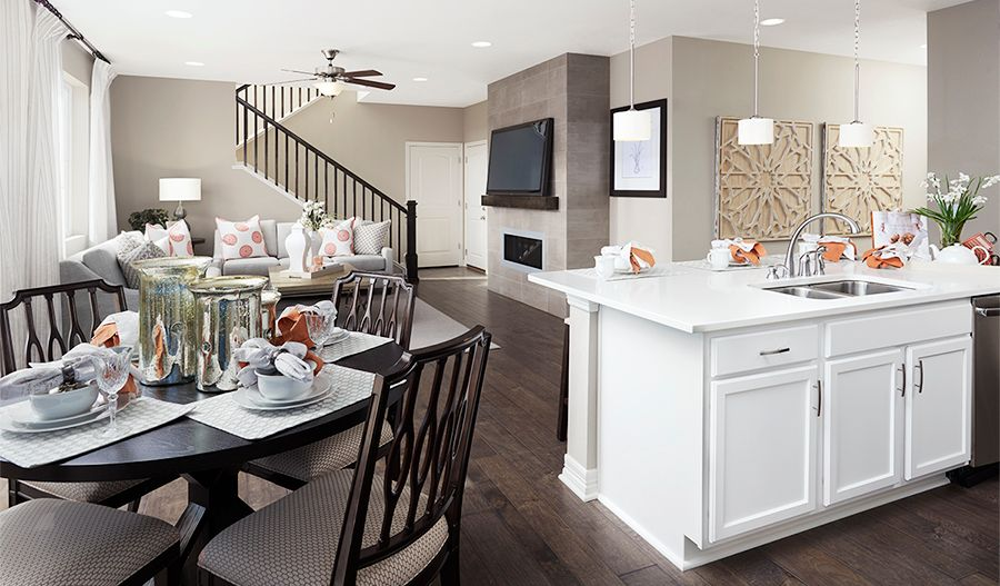 Kitchen featured in the Coral By Richmond American Homes in Salem, OR